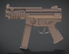 3D printable model MP5K RIS
