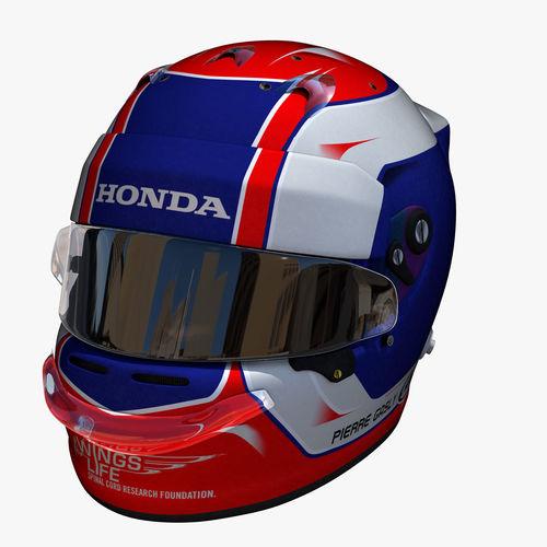 Gasly helmet 2018