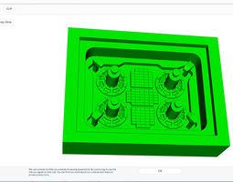 selfdestruction Systhem panel 3D printable model
