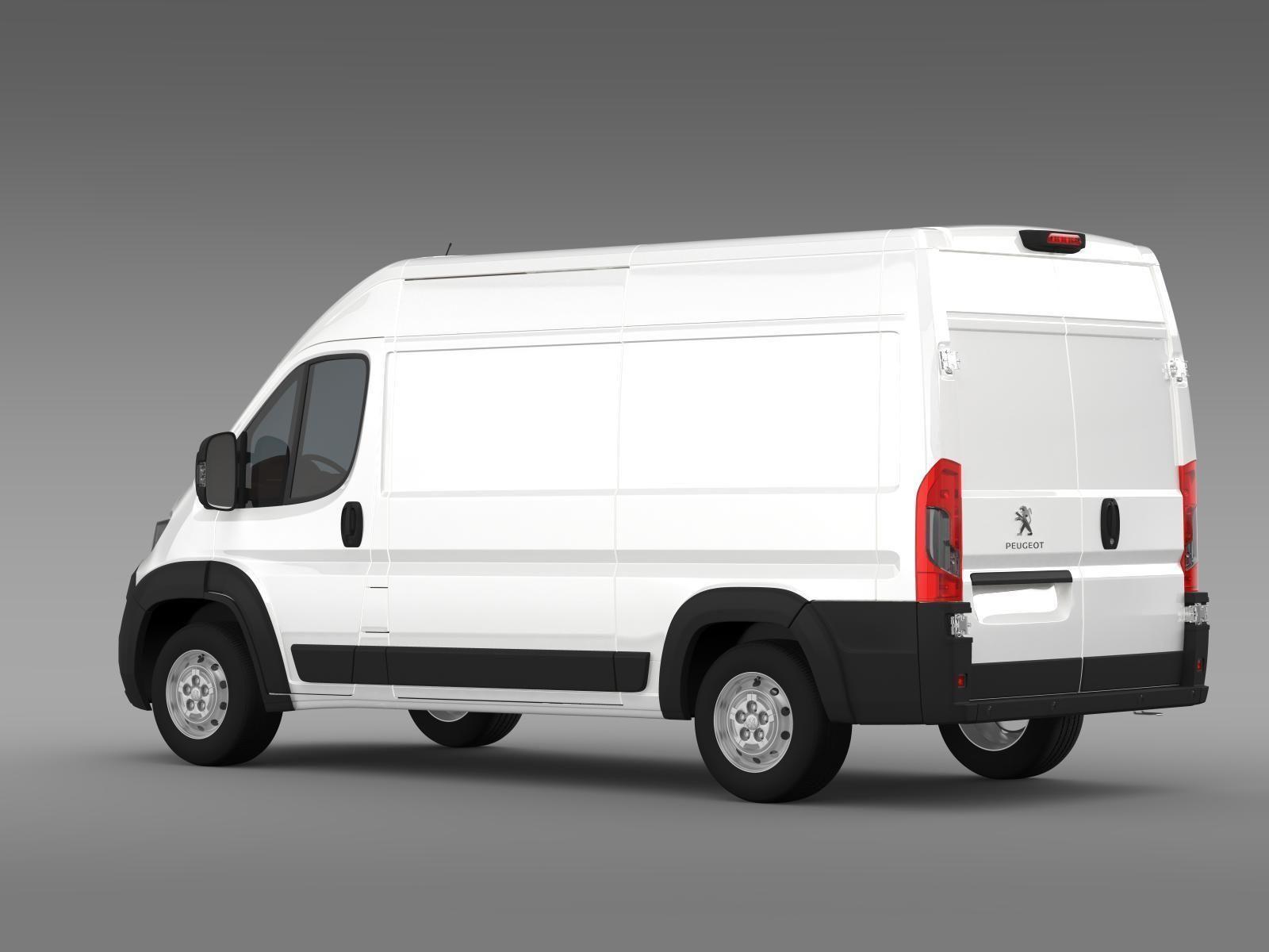 peugeot manager furgon l2h2 2014 3d model max obj 3ds fbx. Black Bedroom Furniture Sets. Home Design Ideas