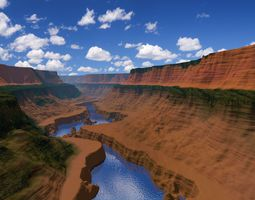 3D model Grand Canyon