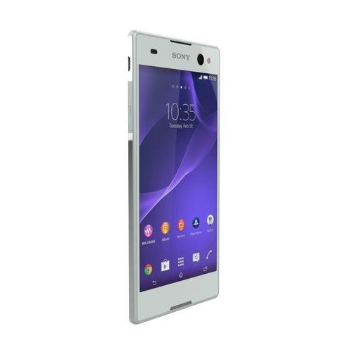sony xperia c3 gsm phone dual sim white 3d model obj mtl fbx ma mb stl 1