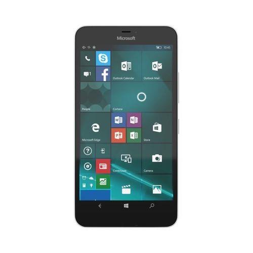 microsoft lumia 640 xl lte white 3d model obj mtl fbx ma mb stl 1