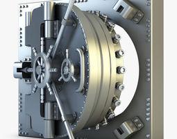 3d bank vault door v 1