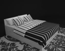 Nord Bed bed 3D model
