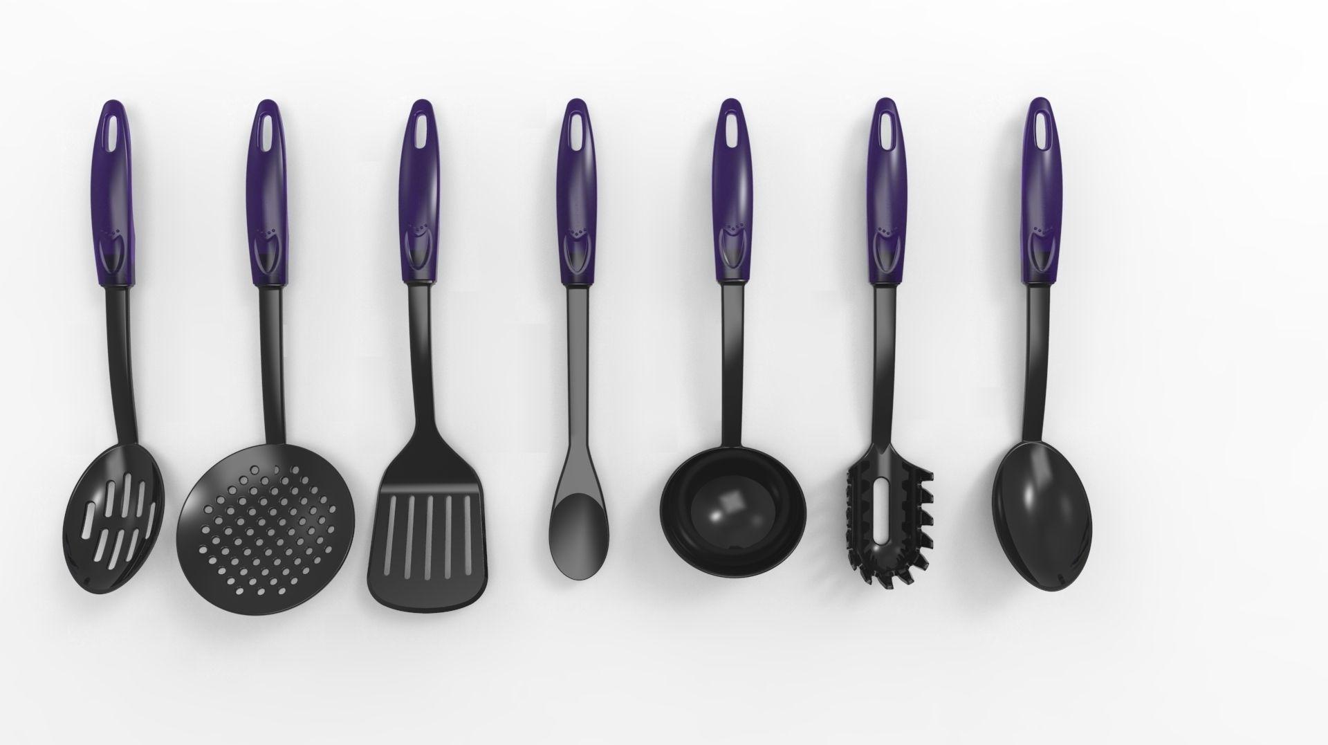 3D model Kitchen utensils