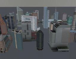 3D model Amsterdam High Rise Pack