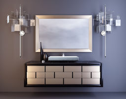 Bathroom Vanity 3D