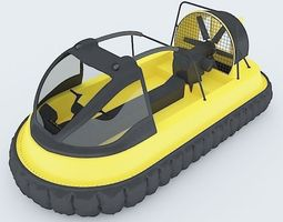 Turbo speed Boat 3D Model
