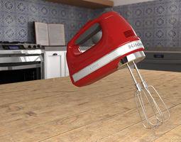 Kitchenaid Handmixer 3D