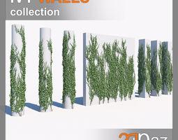 Ivy set 01 3D