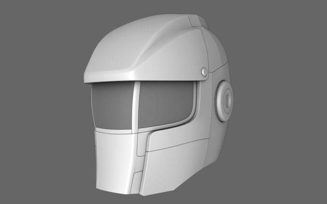 Halo Sci Fi Helmet 053D model