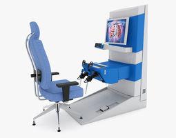 3D Medical - Surgical Robot Control Panel