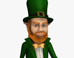 3D model Leprechaun Rigged