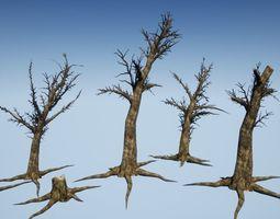Dead Tree Optimized Collection 2 3D asset