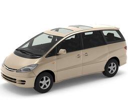 3D asset Toyota Estima