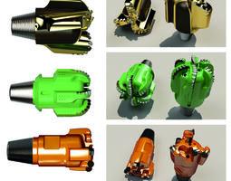 drill bit set 3D model
