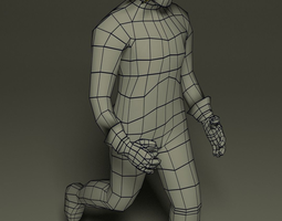 Fantasy male character 3D Model