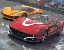 Giugiaro concepts 1 2 0 3D