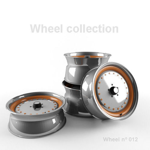 Wheel N012 Collection3D model