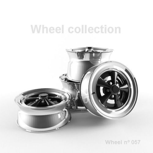 Wheel N057 Collection3D model