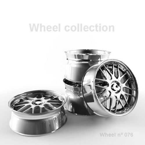 Wheel N076 Collection3D model