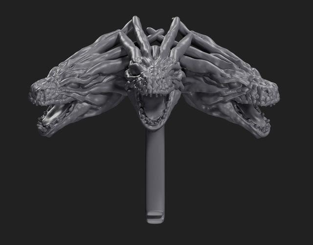 daenerys targaryen brooch 3d model obj mtl fbx stl blend 1