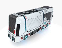 Hover truck 02 3D