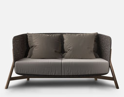 Point ROUND Sofa 2 3D model