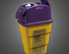 Medical Needle Deposit HPL - PBR Game Ready 3D asset