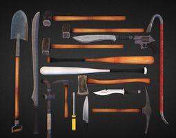 Survival Weapons HD Vol 1 3D Model