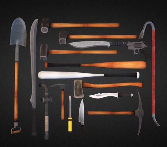 Survival Weapons HD Vol 13D model