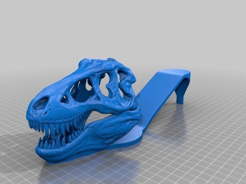 T Rex Sandals Free 3d Model 3d Printable Stl Cgtrader Com