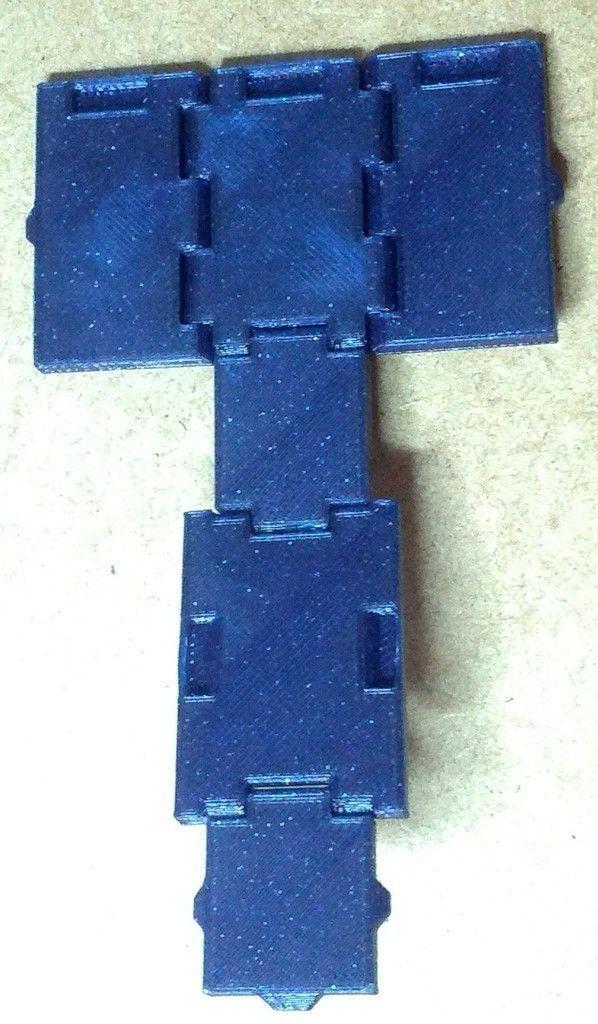 Foldable Tardis Free 3d Model 3d Printable Stl Cgtrader Com