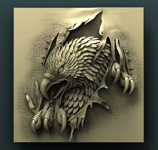 3d STL Model for CNC Router Eagle | CGTrader