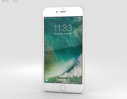 Apple iPhone 7 Plus Gold 3D model 10