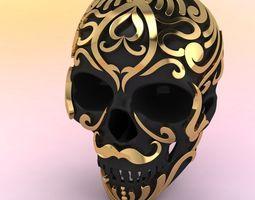 Skull Pendent 3D print model