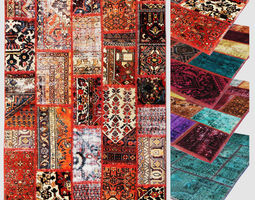 Carpet patchwork 03 3D model