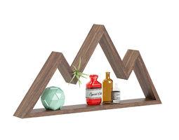 Mountain Shaped Wall Shelf 3D model