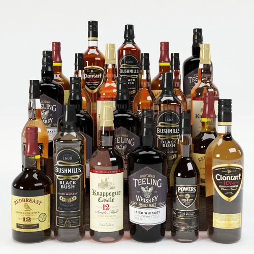 alcohol 3d model max obj mtl 3ds fbx 1