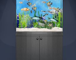 3D aquarium life