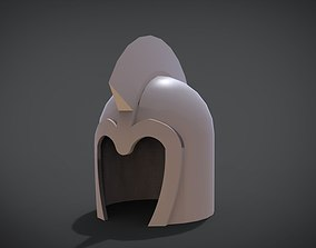 3D print model Iron helmet v3