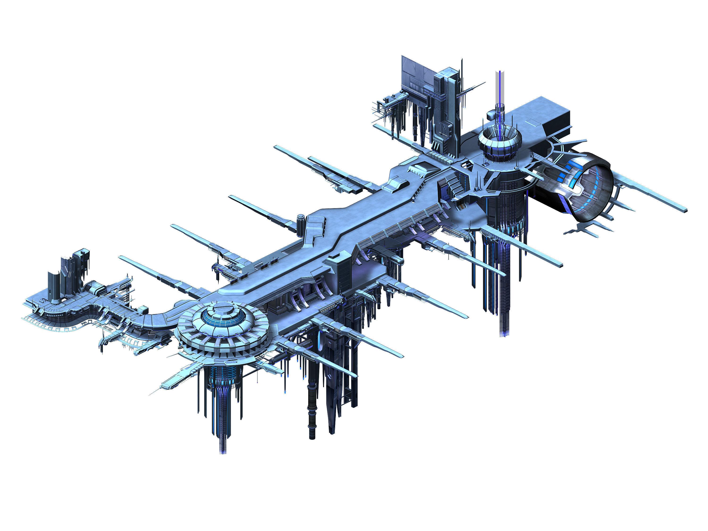 Spaceship - port of call