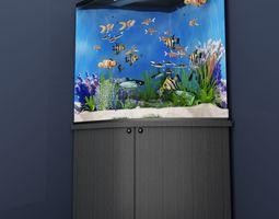 3D corner aquarium