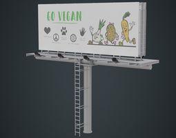 Billboard 1A 3D asset