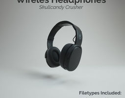 3D asset Skullcandy Crusher Wireless Headphone