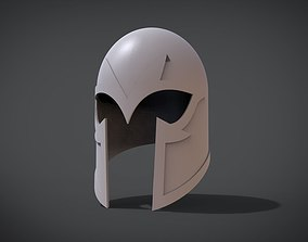 3D printable model Helmet Magneto