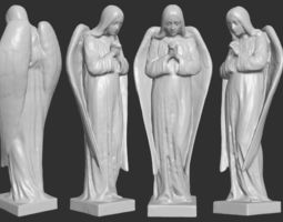 Angel Figurine - 3D Printable