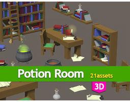 3D model Potion room pack