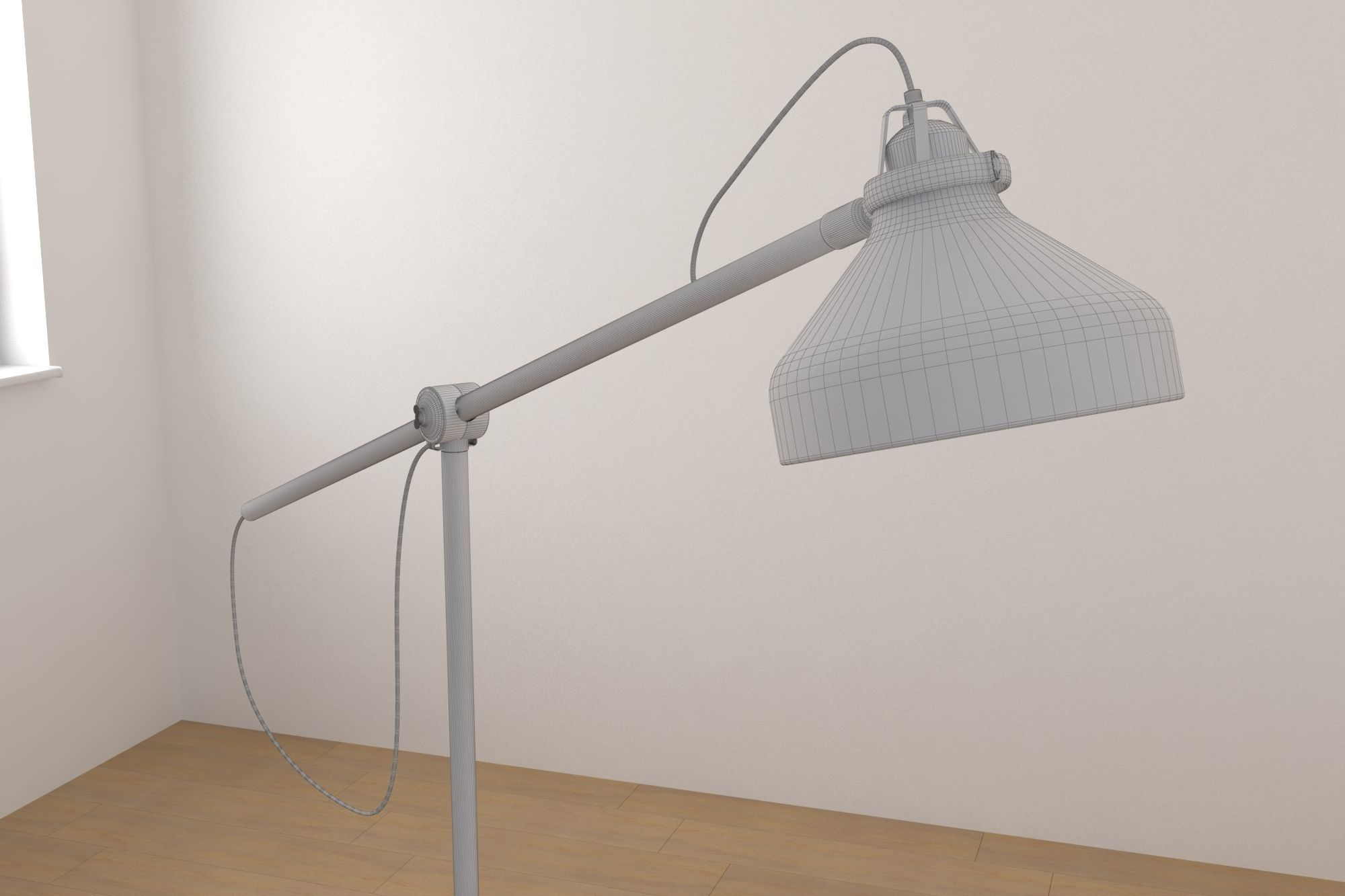 Ikea Ranarp Lamp : Wiring ikea light fixture uk simple ikea ranarp work lamp provides
